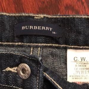 48d5e41fe0d1 Burberry Bottoms - 🍁 Burberry Kids Jeans size 14 🍁